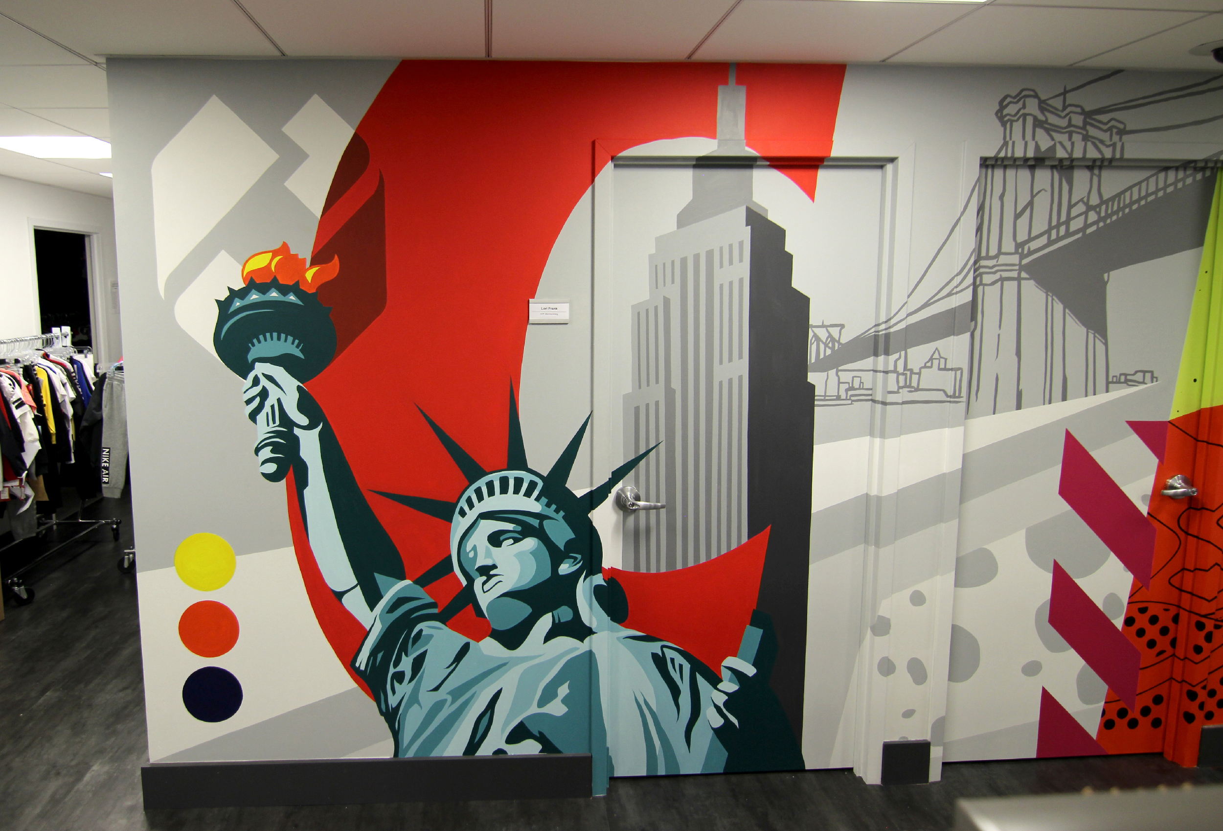 haddads quotcreatequot mural custom mural specialists